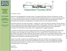 Tablet Preview of clarkstonhistory.info